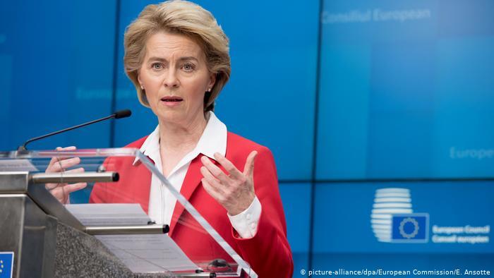 EU-Staaten einigen sich im Kampf gegen Coronavirus (picture-alliance/dpa/European Commission/E. Ansotte)