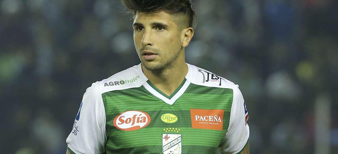 Lucas Mugni jugó desde enero hasta mediados de diciembre de 2019 en Oriente Petrolero. Foto: Archivo