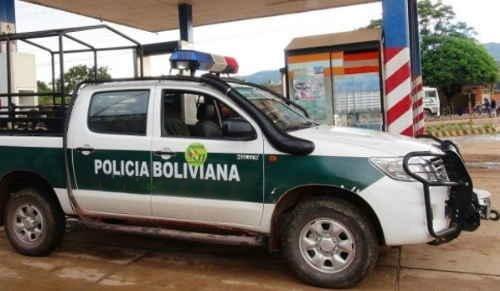 Resultado de imagen de patrulla de la policía de bolivia