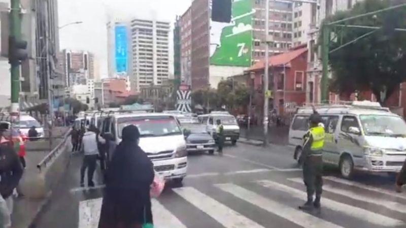 El segundo día de cuarentena deja 40 arrestados en La Paz y El Alto