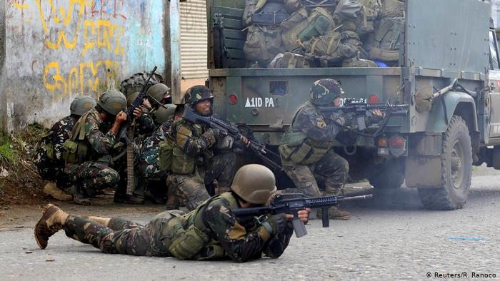 Combates en Marawi, Filipinas. (Archivo).