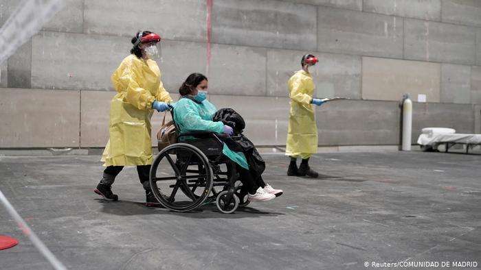 España: casi 400 muertos por coronavirus en el transcurso de 24 horas. (21.03.2020)