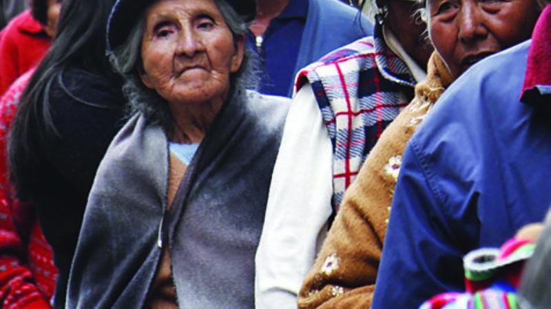 Adultos mayores, entre la precariedad y el temor al contagio de Covid-19