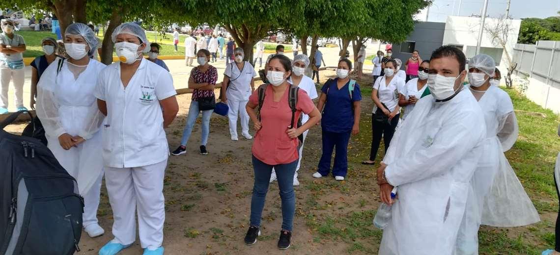 Santa Cruz: 9 médicos del hospital de La Pampa ponen su cargo a disposición por temor al coronavirus