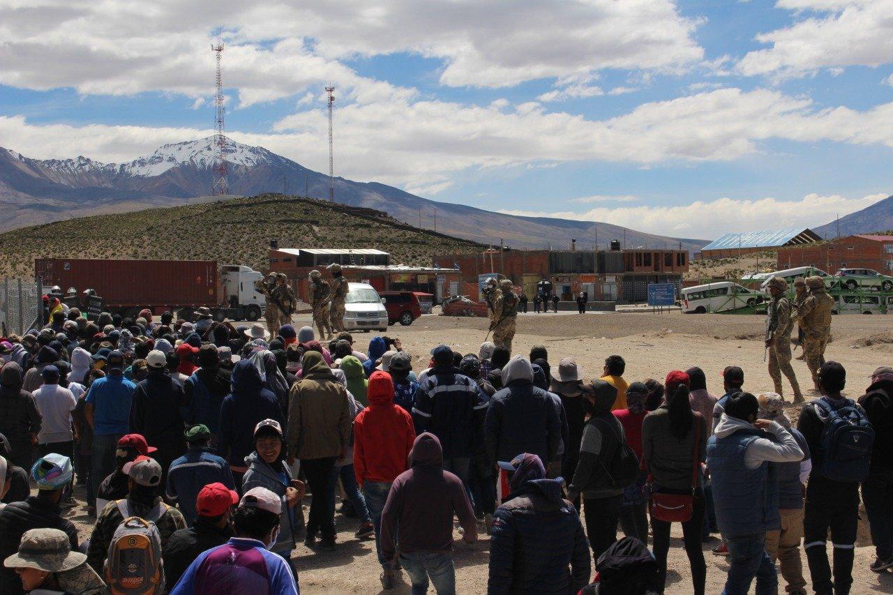 Urgente: Enfrentamiento en Colchane deja heridos
