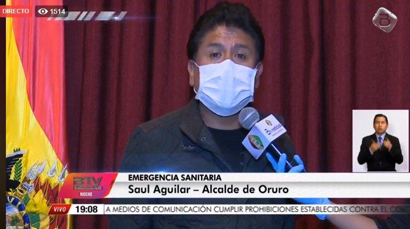 Oruro reduce de 8 a 4 sus casos positivos de coronavirus