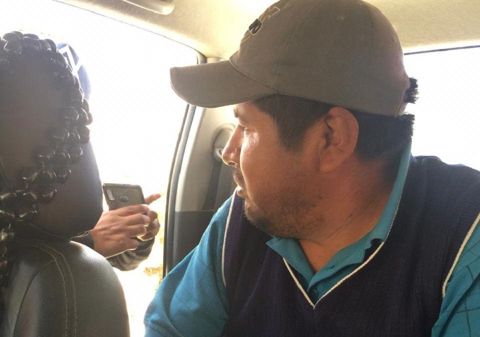 El dirigente Faustino Yucra fue hallado en Tarabuco.