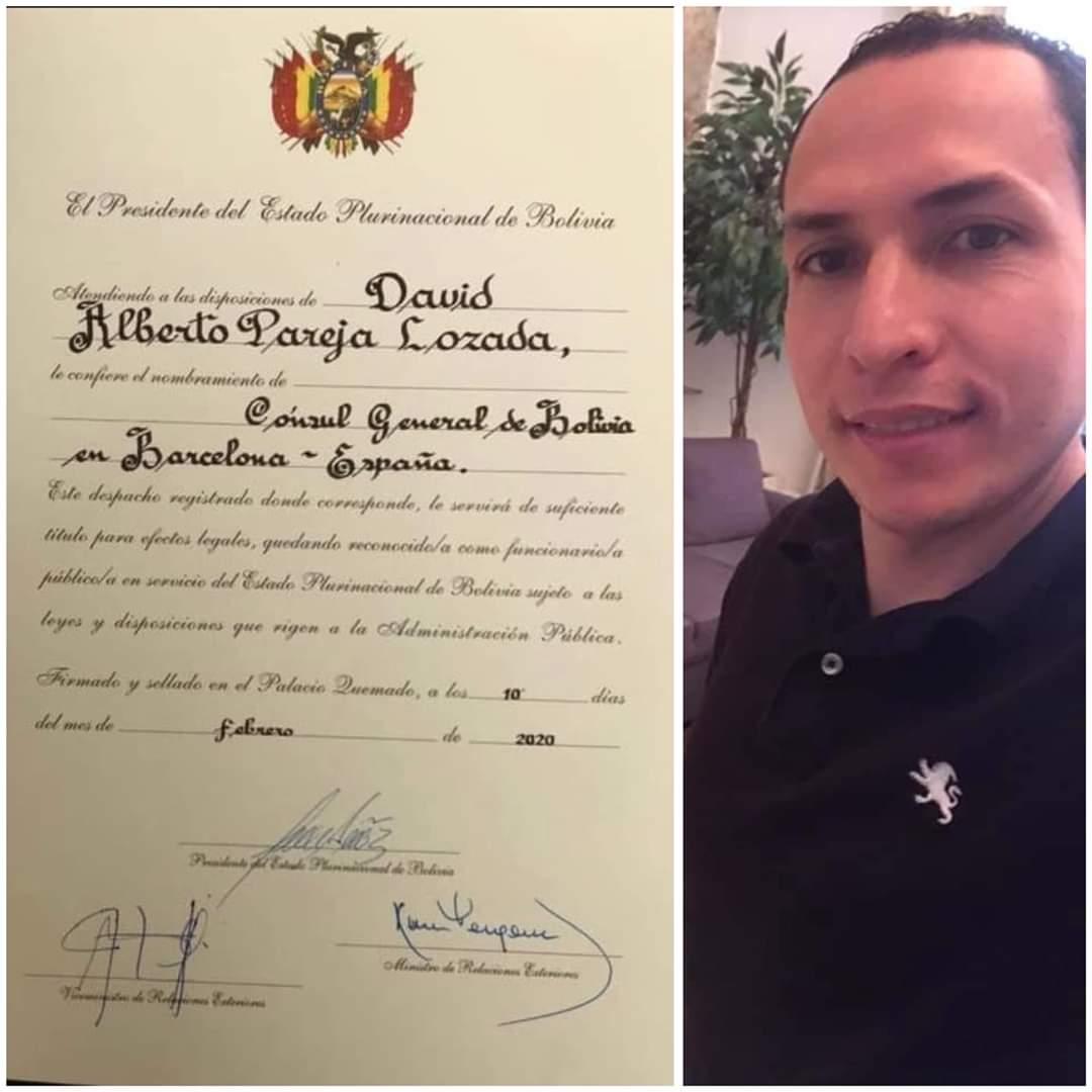 Cónsul de Bolivia en Barcelona dice que verificó la existencia de ...