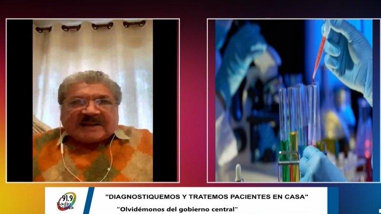 Vaca Díez: Diagnostiquemos y tratemos a pacientes en casa, olvidémonos del Gobierno
