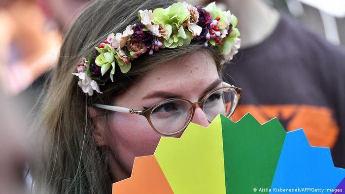 Imagen de archivo de la marcha del Orgullo LGBTI en Budapest en 2019