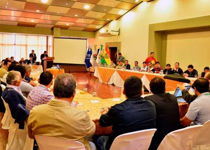 Una reunión pasada de la FBF. Foto: internet
