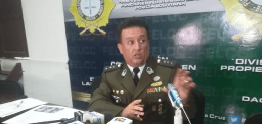 Coronel Angel Morales, asume de nuevo director en la Felcc