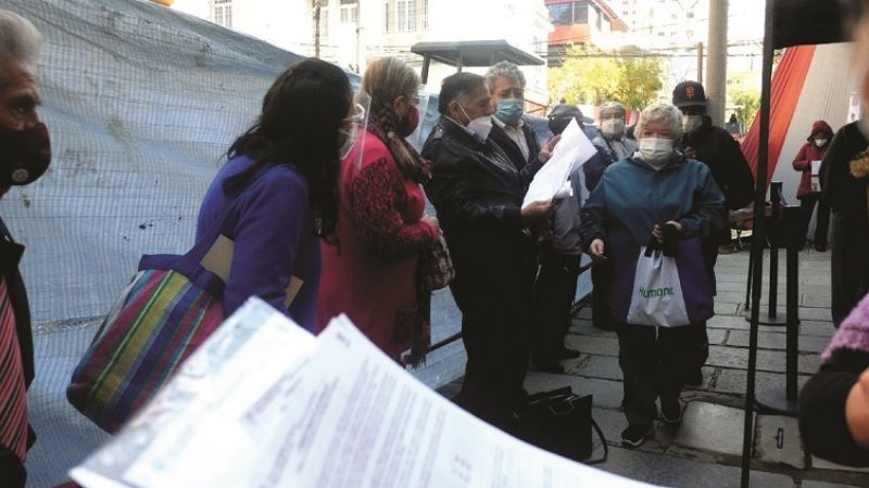Los Sedes demoran en distribuir vacunas, tienen una cuarta parte de las requeridas
