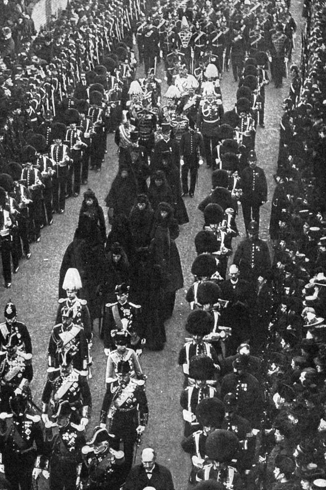 Funeral de la reina Victoria