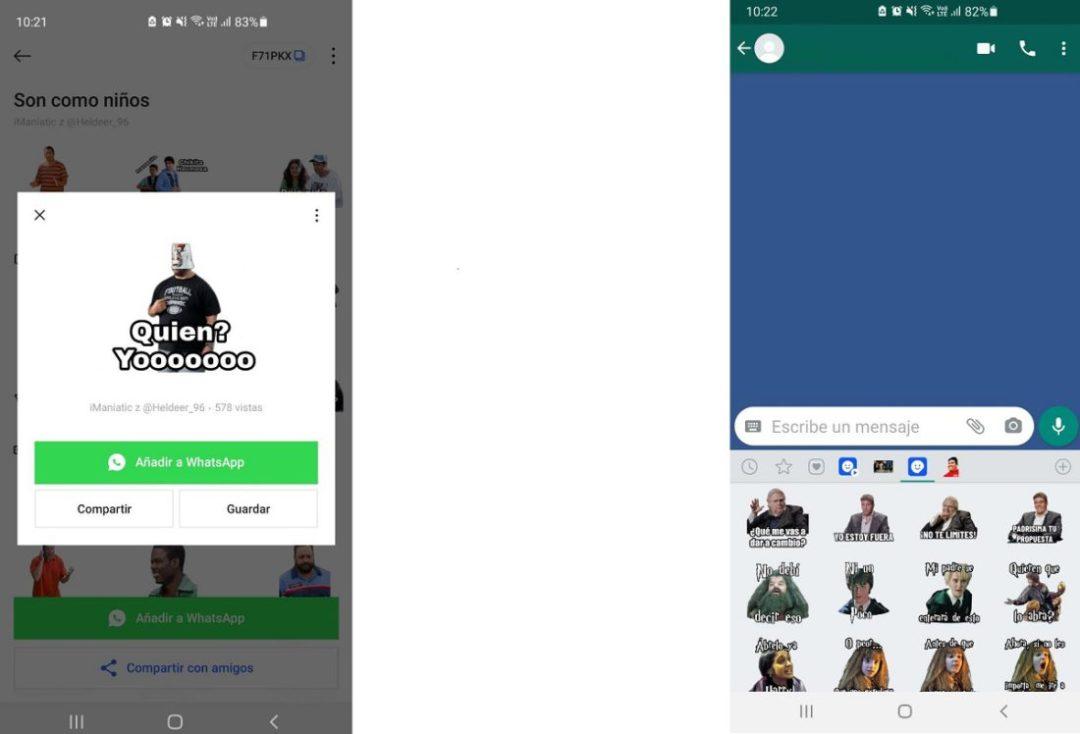 Stickers para WhatsApp capture B
