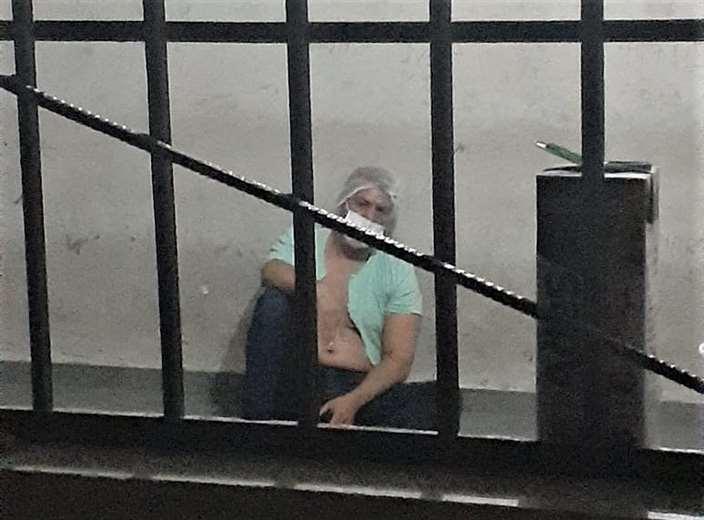 El médico fue trasladado a celdas policiales/Foto: Redes
