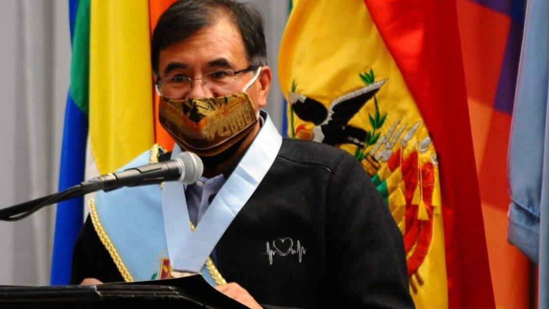 El gobernador de Cochabamba, Humberto Sánchez. Noé Portugal