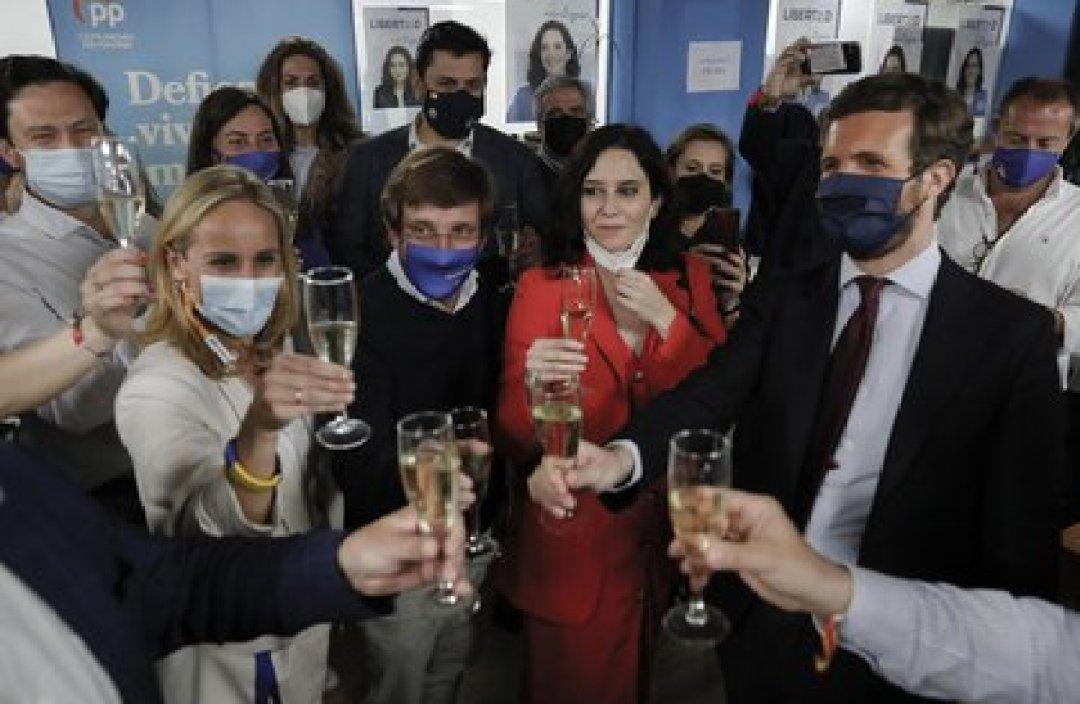 04/05/2021 Ayuso con líderes del PP EUROPA ESPAÑA POLÍTICA Europa Press
