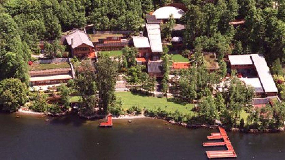 La residencia de Bill y Melinda Gates en el estado de Washington (Dan Callister/Newsmakers)