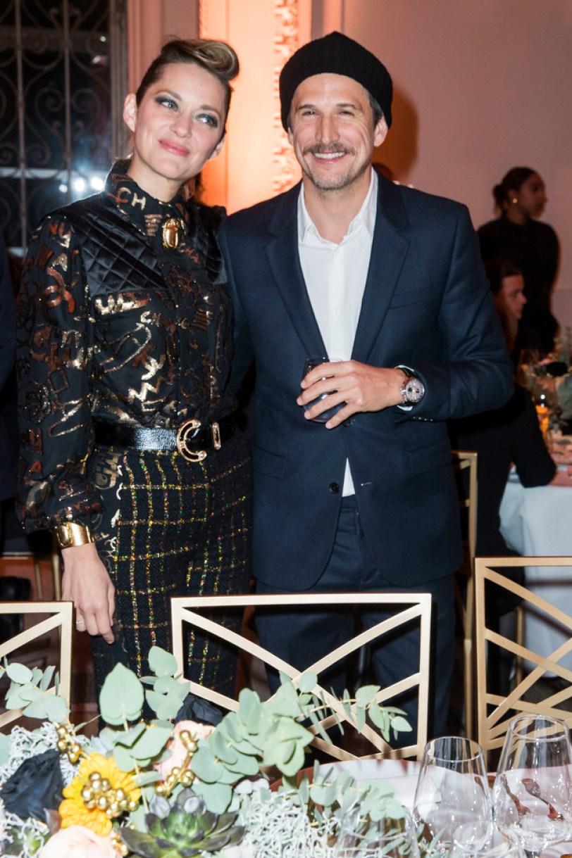 Marion Cotillard y su pareja Gillaume Canet llevan juntos casi 15 años.