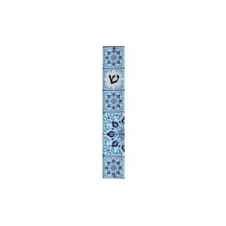Mezouza Perspex Mezouza 12cm avec Mosaique bleue € 26