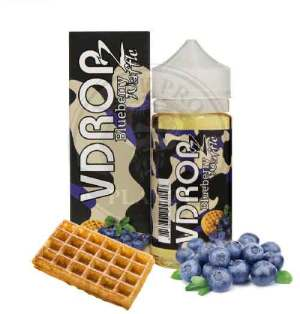 Blueberry Waffle by Vdropz