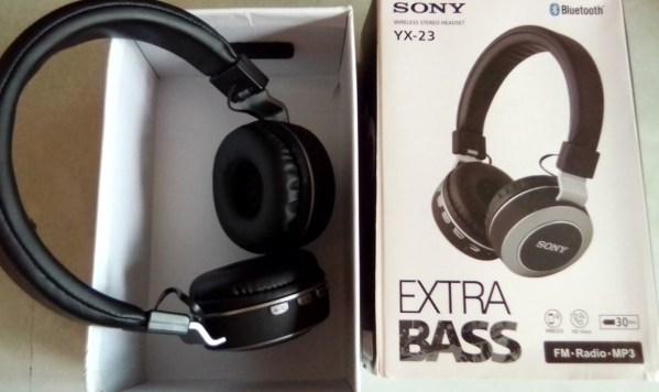 Sony YX-23 Extra Bass Head Phone