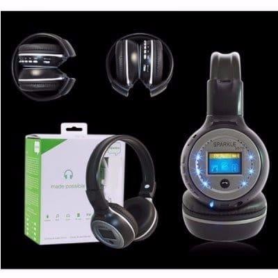 Sparkle Bluetooth Wireless Headphones Black