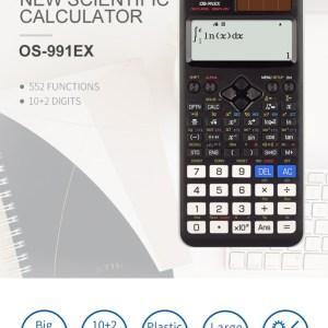 Osalo FX 991EX Scientific Calculator – Black & White