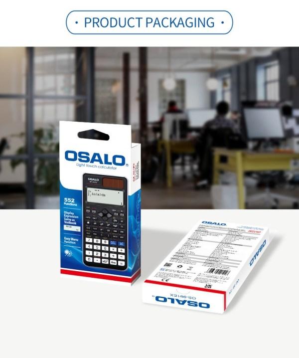 A Box of Osalo FX 991EX Scientific Calculator – 10 pieces