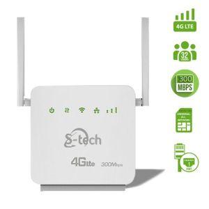 Stech Supernova Universal 4G LTE Router – White