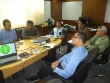 audit internal dari tim Baznas Pusat ke kelompok tani ternak alifselaku penerima program ZCD Baznas di Jakarta
