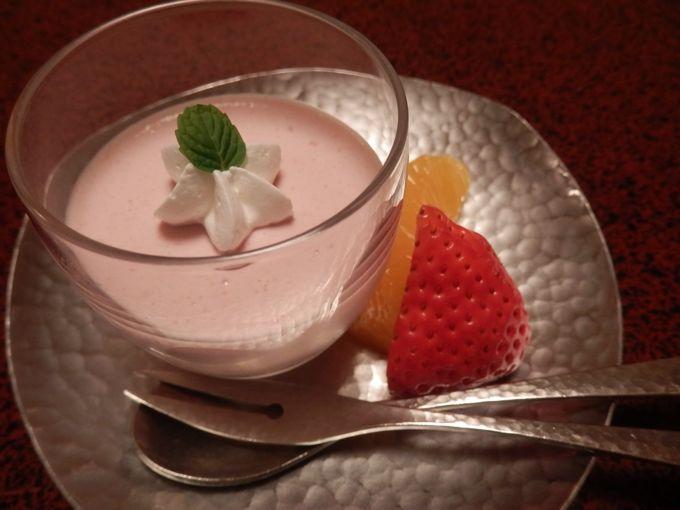 岩惣 夕食 水菓子