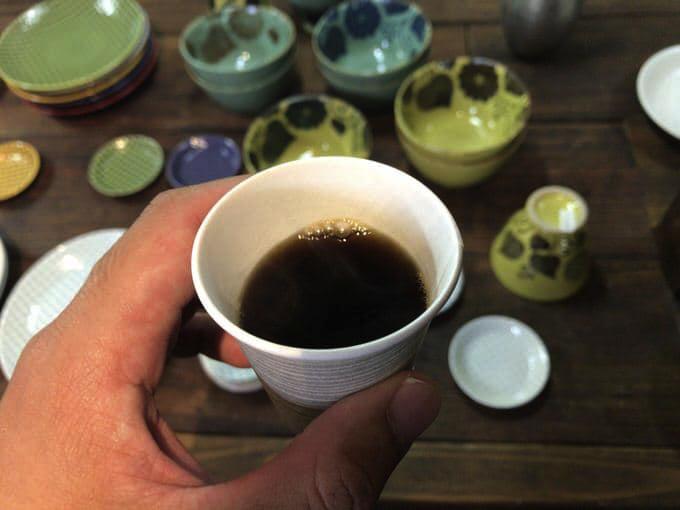 ニシヤマ コーヒーのサービス