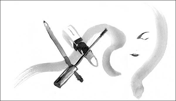 婦人公論「美貌の格言」イラスト
