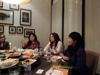 Dinner with Prita Kemal Gani