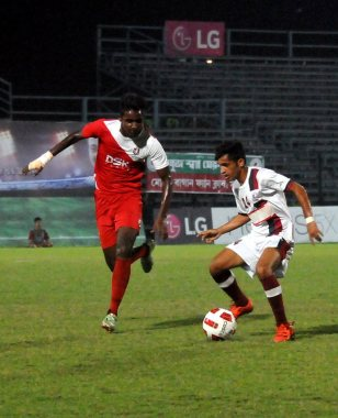 TFA, Kingfisher East Bengal and DSK Liverpool won on Thursday