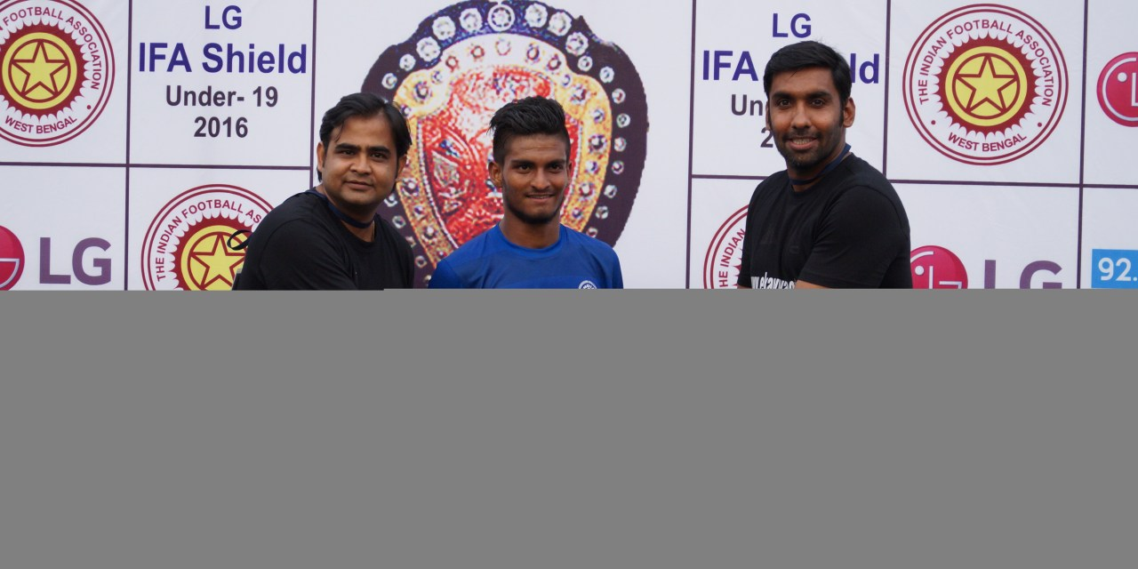 AIFF U19 defeated DSK Liverpool academy by 4-3 in the opening match of 120th LG IFA Shield 2015-16. 16.02.2016