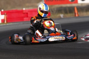 With his Team USA spot already secured, Alan Rudolph will focus on defending his Rotax DD2 Masters national title (Photo: PSLKarting.com)