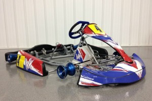Cole's weapon for the RIGP this weekend - the Victory Kart