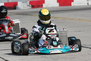 Canadian Cory Cacciavillani became the eighth different international driver to earn a 'Rock' trophy