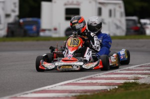 Mathieu Demers claimed the 2013 ECKC Vice-Championship title in Briggs Senior (Photo: PSL Karting)