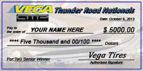 Vega Thunder Road Nationals