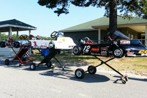 Brand-new Coyote, Razor and Margay karts went to the Pro Gas Animal national champions (Photo: NCRM)