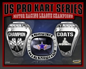 All USPKS title winners receive a championship ring for their efforts in 2013
