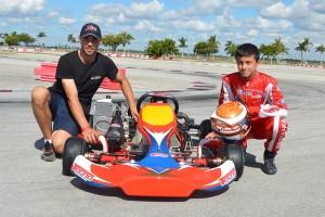 Michael Benyahia will make the move to the junior ranks aboard a Tecno chassis (Photo: Michael Benyahia Racing)