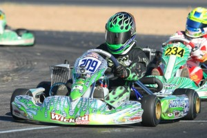 Kyle Wick impressed the paddock in Tucson with his performance in Junior Max (Photo: SeanBuur.com)