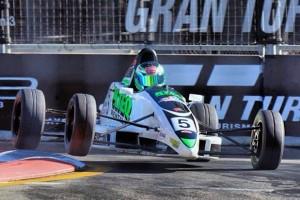 Rowe piloting a Formula Ford (Photo: N. Rowe)