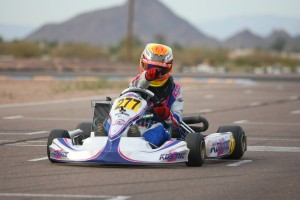 Versteeg has two wins in two weekends for the Rotax Challenge of the Americas (Photo: SeanBuur.com)