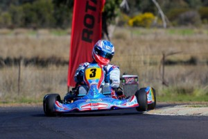 Gold Coaster Lucas Ward will make his debut in the KF2 class (Photo: Fletcher Photography/Bryant)